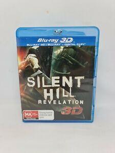 SILENT HILL REVELATION 3D Blu-ray Region B Movie Very Good Condition FREE SHIP