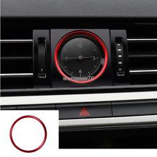 Red Electronic Meter Automotive Clock Auto Watch trim For VW Passat B8 2016-2019