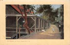 FITCH MOUNTAIN & TAVERN Russian River, CA Healdsburg c1910s Vintage Postcard