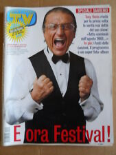 TV Sorrisi e Canzoni n°10 2004 Tony Renis Festival di Sanremo  [D52]