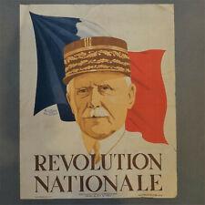 Affiche 1940 Général Pétain