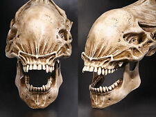 20″Predator VS Alien Skull Fossil Resin Model AVP Figure Statue Collectible Gift