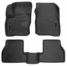 16-18 Ford Focus Husky Liners WeatherBeater All Weather 3pc Floor Mats NEW 99771