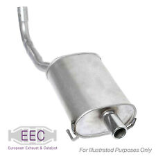 Fits Toyota Yaris 1.0 VVT-i Genuine EEC Exhaust Pipe Back Box Rear End Silencer