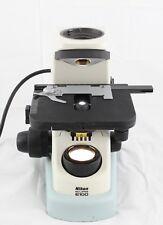 Nikon Eclipse E100 Microscope Stand Stage Condenser