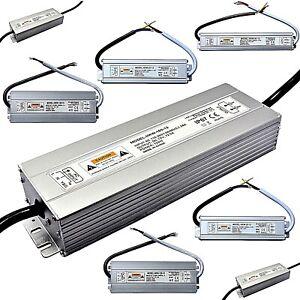 230 Volt / 12V out - Trafo Netzteil 20 - 300 Watt - LED Halogen Treiber IP 67