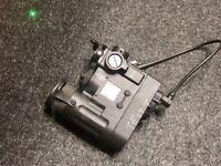 WADSN Element DBAL eMK-2 Integrated LED Light + Green Laser + IR Module - BLACK