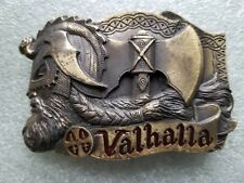 Valhalla Belt Buckle #DD-115 Dragon Collection 1991 Great American Products