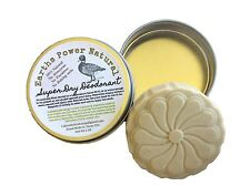 Super Dry All Natural Deodorant  Aluminum & Baking Soda free - Whitening & Detox