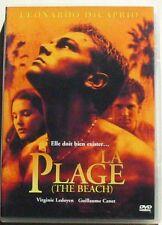 DVD LA PLAGE - Leonardo DICAPRIO / Guillaume CANET / Virginie LEDOYEN