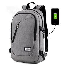 Противоугонная женские мужские Usb зарядки рюкзак для ноутбука, ноутбука, школьная сумка для путешествий