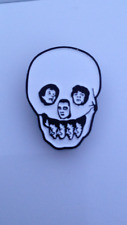 The Damned STRETCHER CASE Badge 77 Punk Rock Smash It Up New Rose Vanian Goth