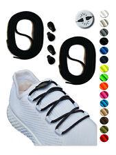 SCHNÜRSENKEL ELASTISCH rund - OHNE BINDEN - Schnellverschluss - Schuhband Gummi