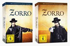 ZORRO-La Serie Completa, Prima + seconda stagione (1+2), 2x 7 DVD Set Nuovo + OVP!