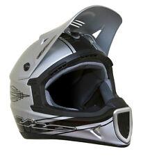 THE Thirty3 Rod Composite Full Face MTB Helmet - Silver - Medium