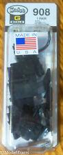 Kadee #908 AAR Type E Knuckle Couplers w/Draft Gear Box 1 Pair -- Medium Offset
