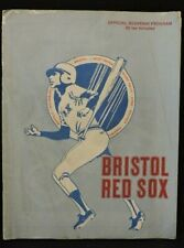 1980 BRISTOL (CT.) RED SOX BASEBALL OFFICIAL SOUVENIR PROGRAM