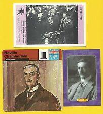 Neville Chamberlain Prime Minister England Pre World War II Fab Card Collection