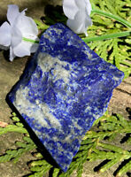 37.8g RICH BLUE RAW LAPIS LAZULI CRYSTAL HEALING SPECIMEN Reiki AFGHANISTAN