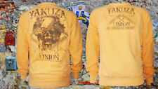 Yakuza Sweatshirt Union Jumper PB-7026 Orange Gr. 5XL RAR Pullover Pulli NEU