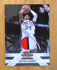 Devin Harris 2010-11 Panini Threads Prime Jersey Patch Swatch #D 46/50
