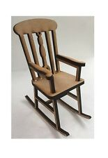 1:12 Scale Rocking Chair Kit