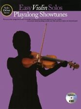 Solo Debut Playalong Showtunes Easy Violin Solos Vln Book/Cd, New Books