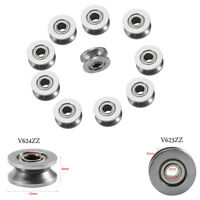 10Pcs Roulement à Billes 3x12x4mm V623ZZ/V624ZZ 4x13x6mm V Ball Bearing