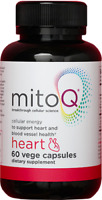 3 Packs MitoQ Heart Cardiovascular Support CoQ10 180 Capsules Free Shipping NZ