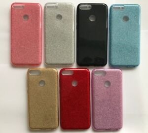 Bling Glitter Shockproof Shiny Back Soft TPU Case Cover For Various Mobile Phone