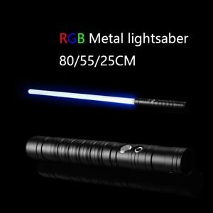 Star Lightsaber war Replica Force FX Heavy Dueling Rechargeable Metal Handle