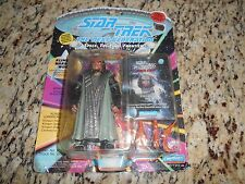 Star Trek The Next Generation Playmates Klingon Warrior Worf 1993 NIB Robe