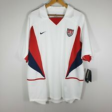 Nike Usa World Cup Soccer Jersey 2002 Vintage Size Xl Nwt