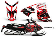 Snowmobile Graphics Kit Decal Wrap For Ski-Doo Rev XR GSX Summit 2013+ CARBONX R