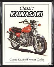 KAWASAKI - Original Collectors Cards- MACH IV, Z650, Z1