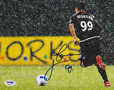 Jaime Moreno SIGNED 8x10 Photo Bolivia *VERY RARE* PSA/DNA AUTOGRAPHED