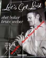 LET'S GET LOST - Chet Baker - 47x63 FRENCH POSTER RR