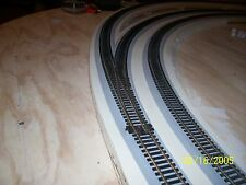 """5pcs (30') Wide O Scale 1/4""""Black Foam Roadbed for MTH RealTrax (Free Samples)"""