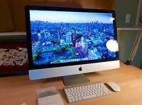 """iMac 27"""" Intel 3.4ghz i7, 256GB SSD+1TB HD+DVD, AMD 6970 1GB Video, 16GB RAM"""