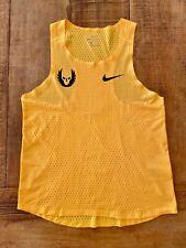 Nike Pro Elite Oregon Project (NOP) YELLOW! Singlet Gyakusou Aeroswift MEDIUM