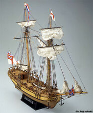 """Beautiful, Authentic Wooden Model Ship Kit by Mamoli: the """"Halifax"""""""