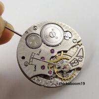 17 Jewels 6498 Mechanical Hand winding Stainless steel Men's watch Movement B3