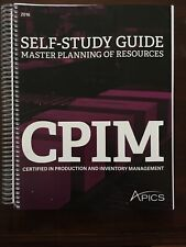 APICS Master Planning of Resources self-study guide