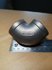 "304 Stainless Steel Elbow, 90°, FNPT, 1"" qty 4 free shipping"