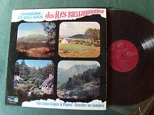 THE LINDEN SINGERS & PLAYERS : Iles Britanniques - LP 1967 French GID SVS 2477