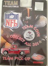 "OFFICIAL NFL ""1998 TEAM COIN & TEAM PICK-UP TRUCK"" Ford F-150-NEW IN SEALED BOX"