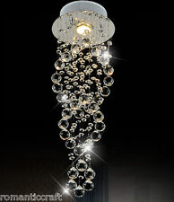 Modern Contemporary Chandelier Rain Drop Chandeliers Lighting with Crystal Ball