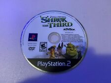 Shrek The Third (Sony PlayStation 2 Ps2) - Disc Only