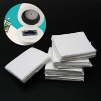 50 Sheets Ceramic Fiber Square Microwave Kiln Glass Fusing Paper For Household