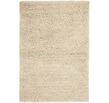 John Lewis Darwin 100% Wool Rug 150cm x 90cm - Neutral Cream A